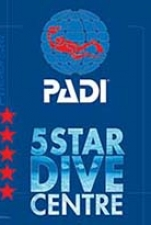 PADI FIVE STAR DIVE CENTRE